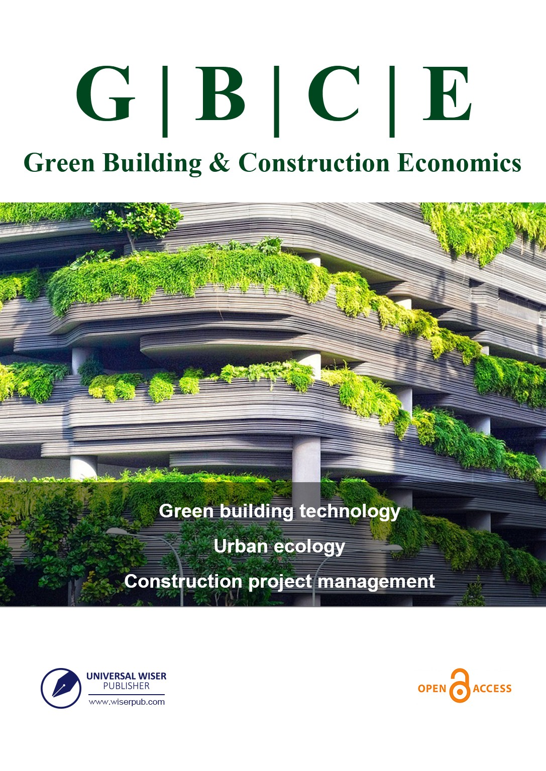 Green Building & Construction Economics